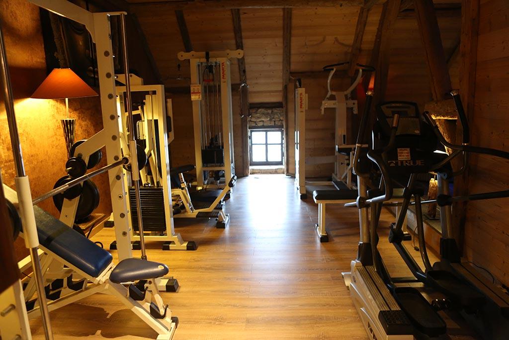 Salle De Musculation De La Maison D Hote Le Repere Des Anges